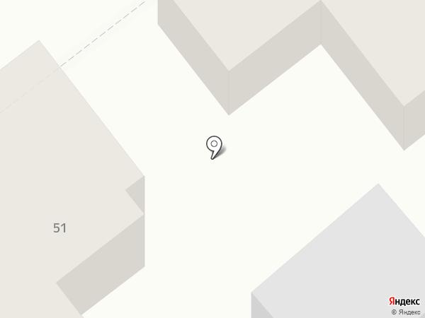 Мансарда на карте Твери