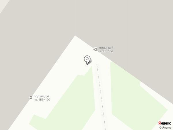 Дом на Псковской на карте Твери