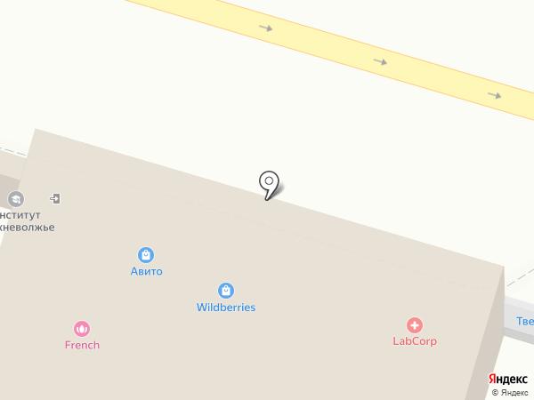 Магазин овощей и фруктов на карте Твери