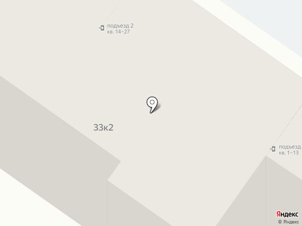 Улица Железнодорожников, 33 к2, ТСЖ на карте Твери