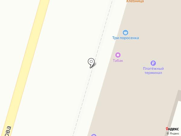 Хлебница на карте Твери