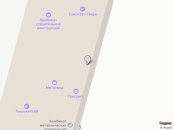 K & C на карте Твери