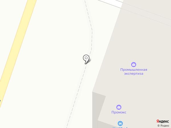 Промышленная экспертиза на карте Твери