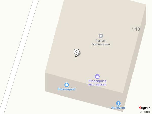 Веломаркет на карте Твери