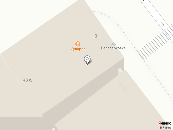 Тред-Юнион на карте Твери