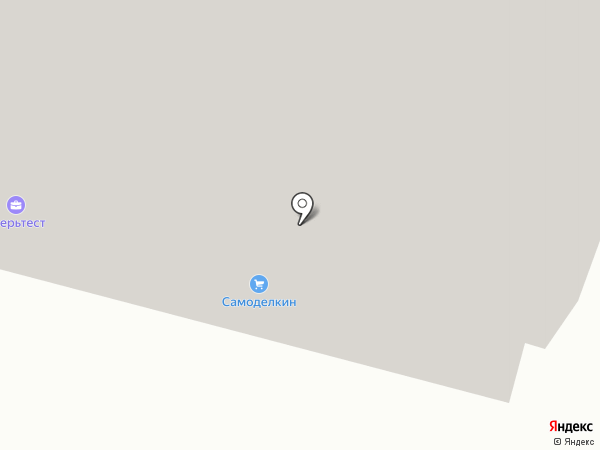Самоделкин на карте Твери