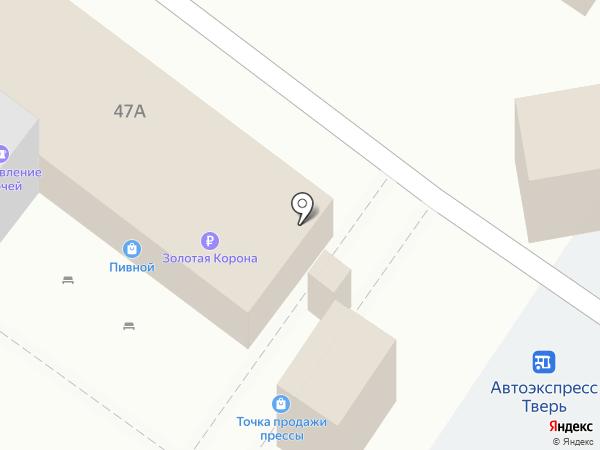 Автоэкспресс на карте Твери