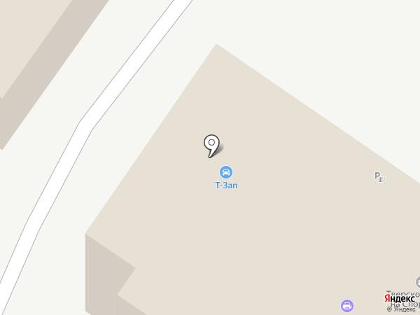 Алкор на карте Твери