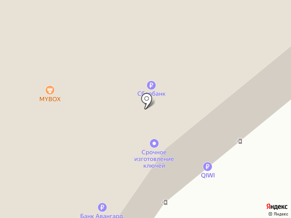 Mybox на карте Твери