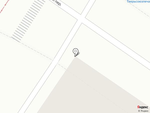 Теремок на карте Твери