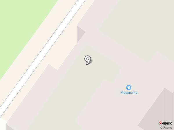 Модистка на карте Твери