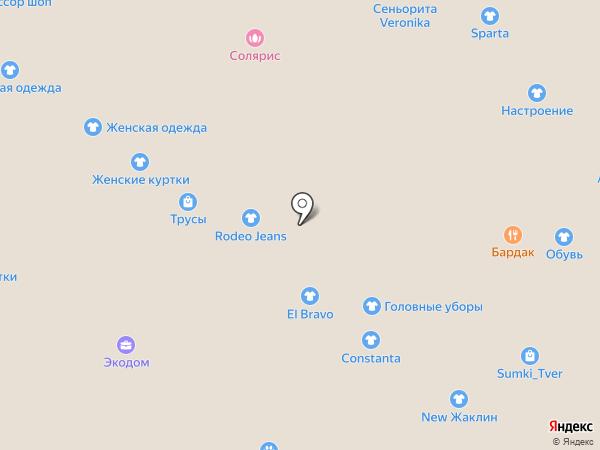 Магазин женской обуви на карте Твери