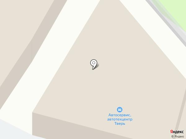 Белый сервис на карте Твери