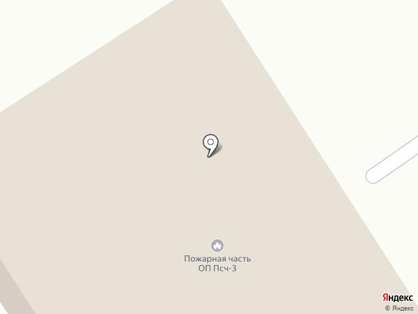 Пожарная часть № 77 на карте Твери