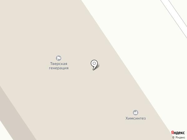 Тверская генерация на карте Твери