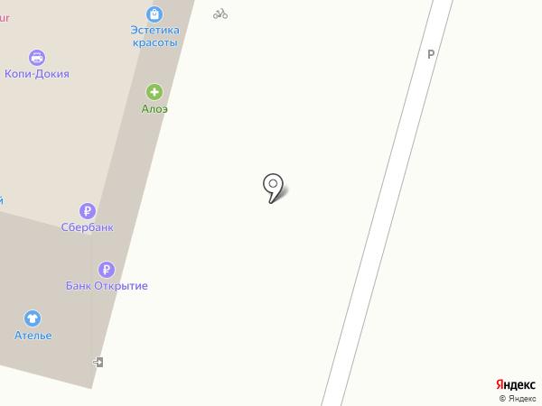 Кружева на карте Твери