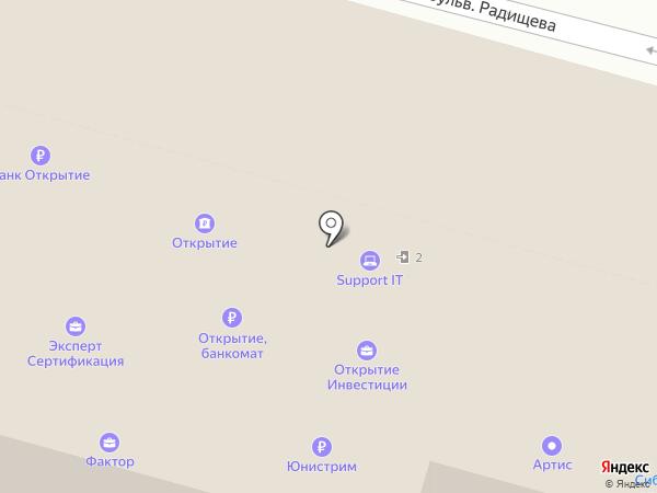 ЭНЕРГИЯ на карте Твери