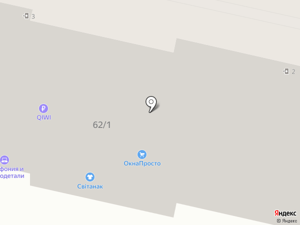 Городская оптика на карте Твери