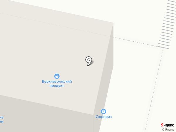 Лакомка на карте Твери