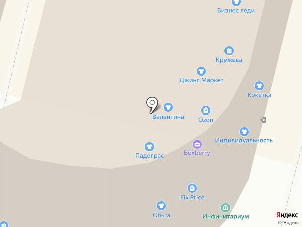 Персей на карте Твери