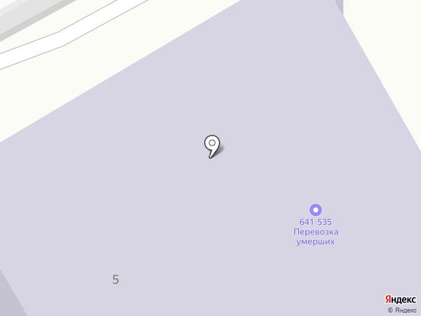 Подвал на карте Твери