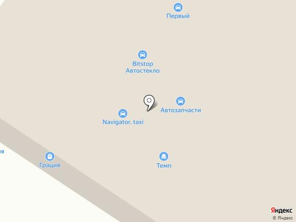 Магнит на карте Твери