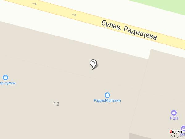 Центральный городской ломбард на карте Твери