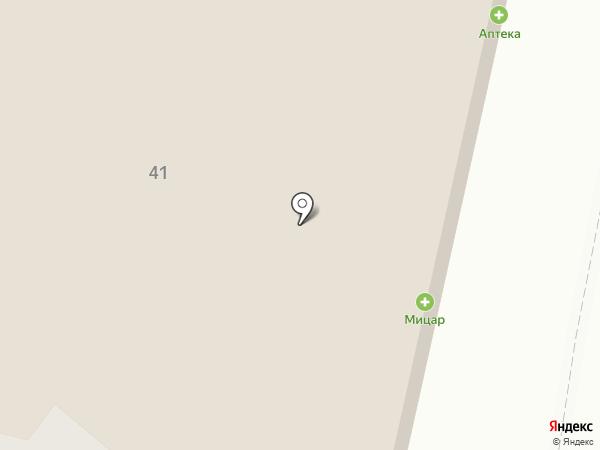Белошвейка на карте Твери