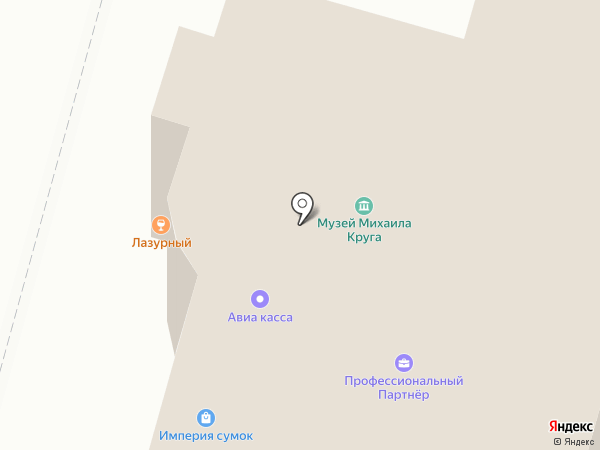 Брусовые дома на карте Твери