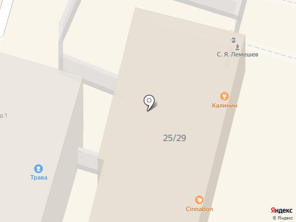 Синнабон на карте Твери