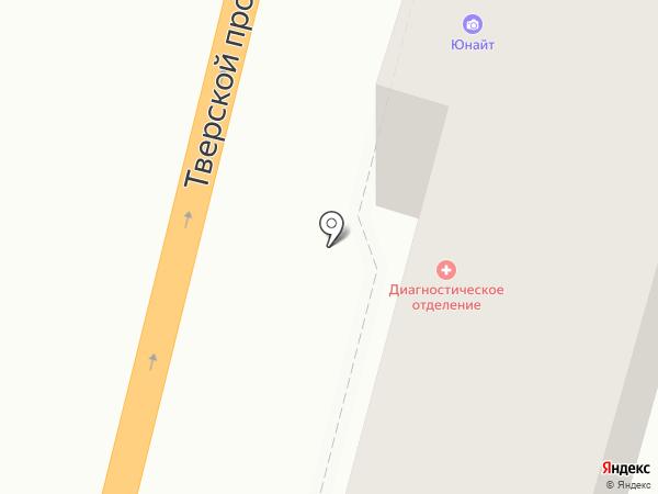 Астра на карте Твери