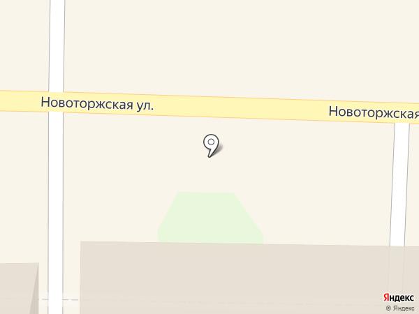 Банкомат, Банк ВТБ 24, ПАО на карте Твери