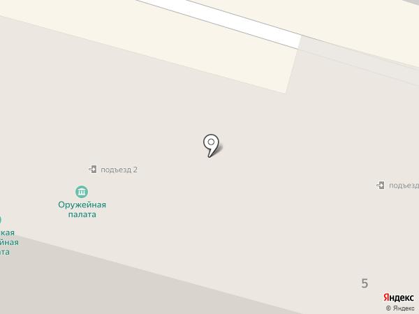 Лента на карте Твери