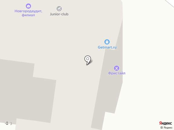 РосОкна на карте Твери