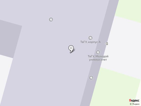 Академическая гимназия на карте Твери
