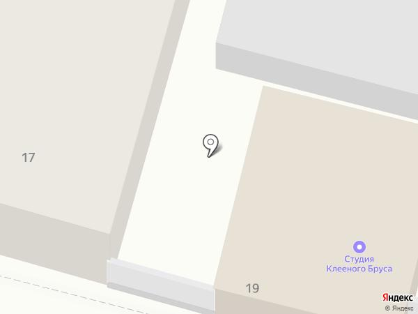 Дельта на карте Твери