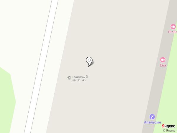 Ева на карте Твери