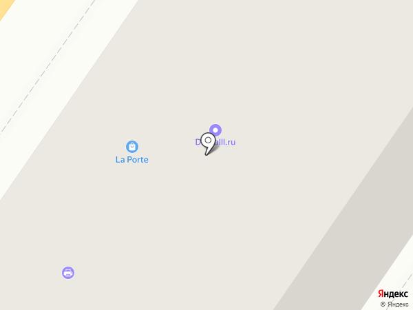 Контур на карте Твери