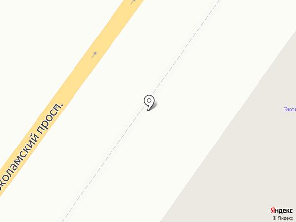 Парикмахерская эконом-класса на Волоколамском проспекте на карте Твери
