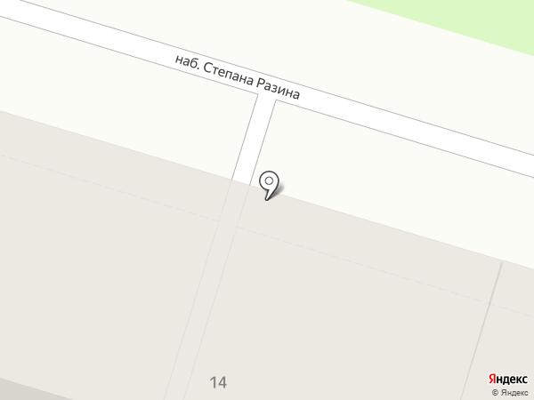 ВЕЗА на карте Твери
