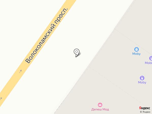 Сеньорита на карте Твери