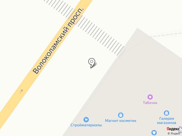 Максавит на карте Твери