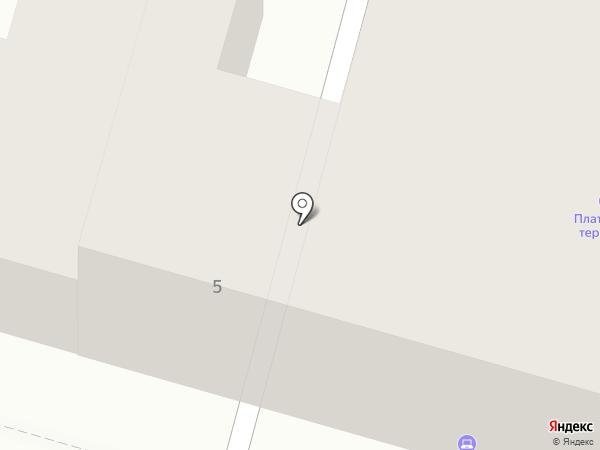 Горсеть на карте Твери