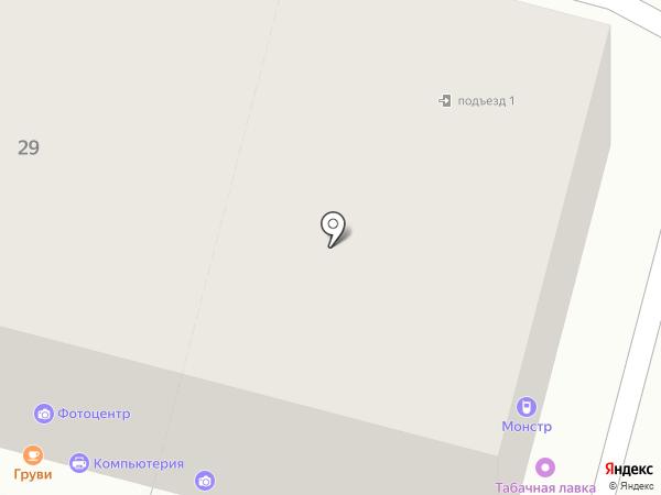 МОНСТР на карте Твери