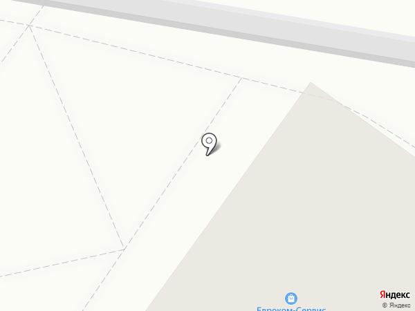 ЕВРОКОМ-Сервис на карте Твери