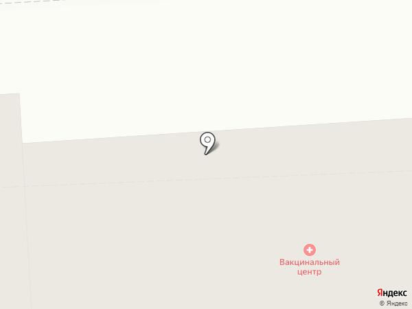 Вакцинальный центр на карте Твери