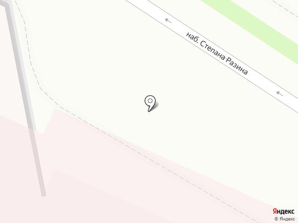 Детская областная клиническая больница на карте Твери