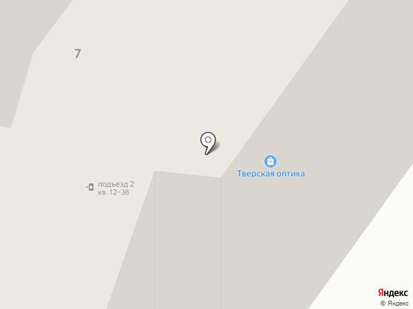 Зрение на карте Твери