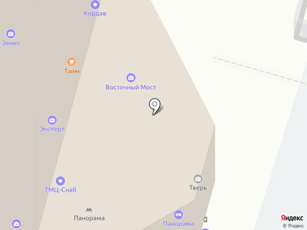 Амедиа-Тверь на карте Твери