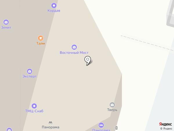 Панорама на карте Твери